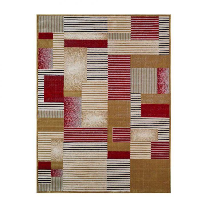 Tapete Retangular Veludo Marbella Illusione Artistic Caramelo 248x350 cm