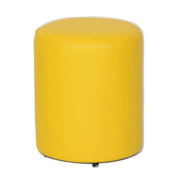 Puff Round Ii Amarelo