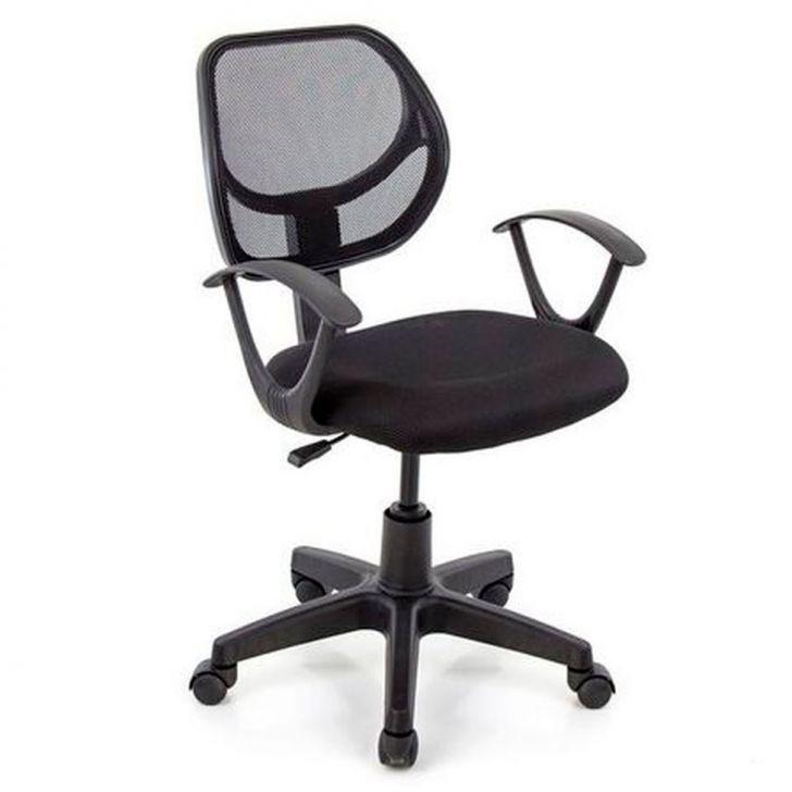 Cadeira De Escritório Secretária Willet Preta