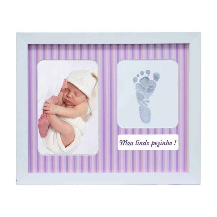 Painel De Fotos Para Parede Baby Love Color 22x32  2 Fotos 10x15 Kapos