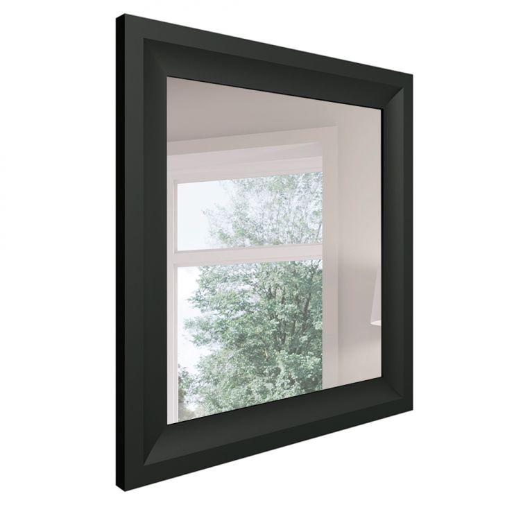Espelho Decorativo Classe 85 X 80 Cm Preto
