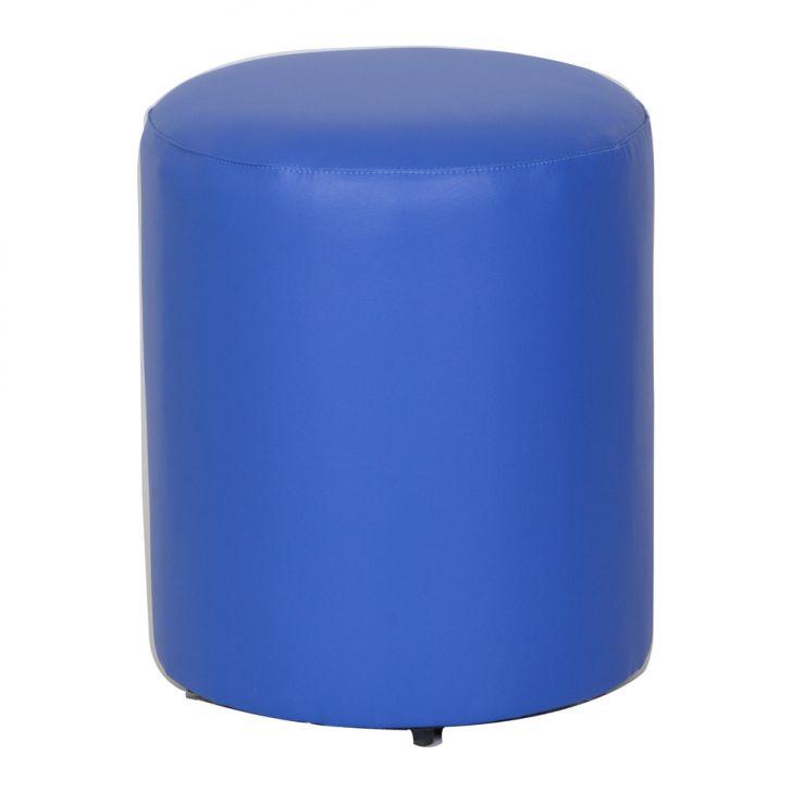 Puff Round Ii Azul Royal