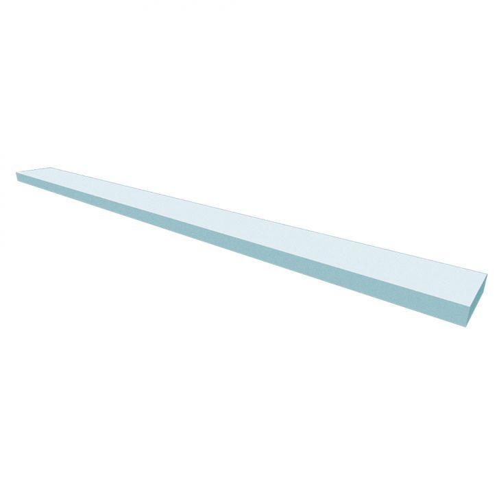 Prateleira Ardo Cinza Cristal 110 Cm