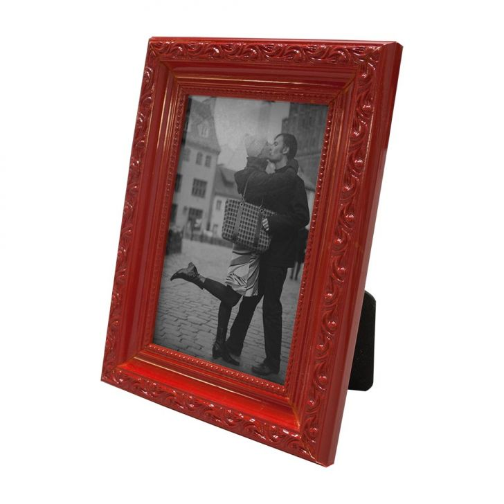 Porta Retrato 15x20cm Provençal Vermelho