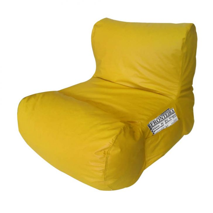 Puff Relax Corano Amarelo Stay Puff