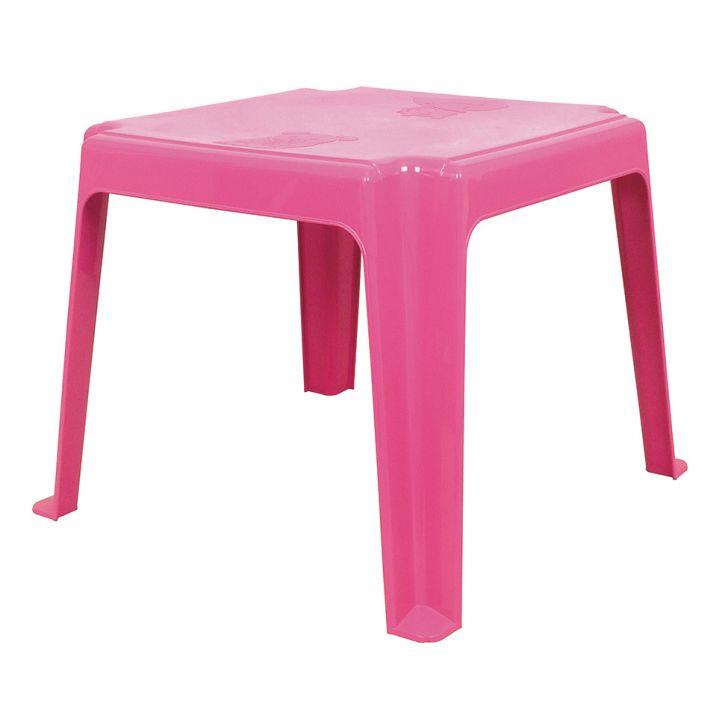 Mesa De Plástico Infantil Rosa