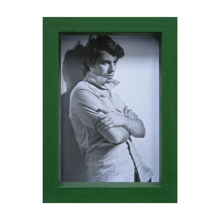 Porta-retrato Caixa Color Verde 15x21cm