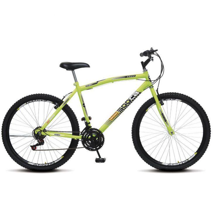 Bicicleta Colli Aro 26 CB 500 Chev Aero Amarelo Neon - Colli Bikes
