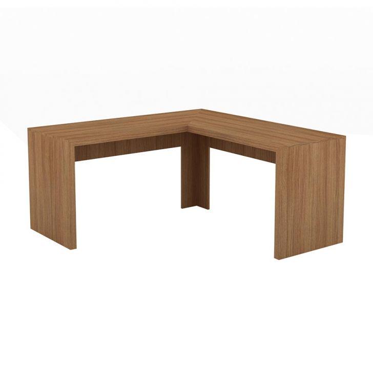 Mesa De Escritório Phillipe Amêndoa