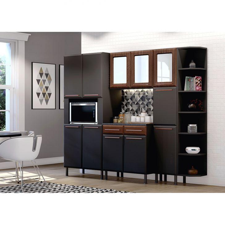 Cozinha Completa Amore 11 Pt 2 Gv Preta E Malbec