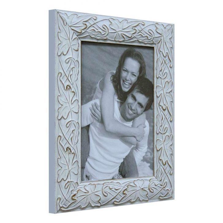 Porta Retrato De Mesa Branco 20x15x1