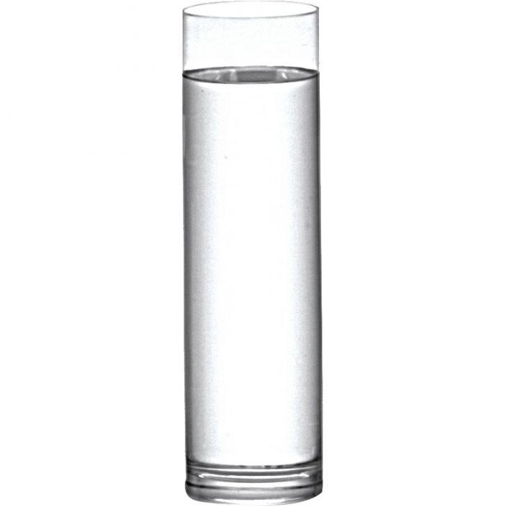 Vaso Cilindro Transparente 31cm
