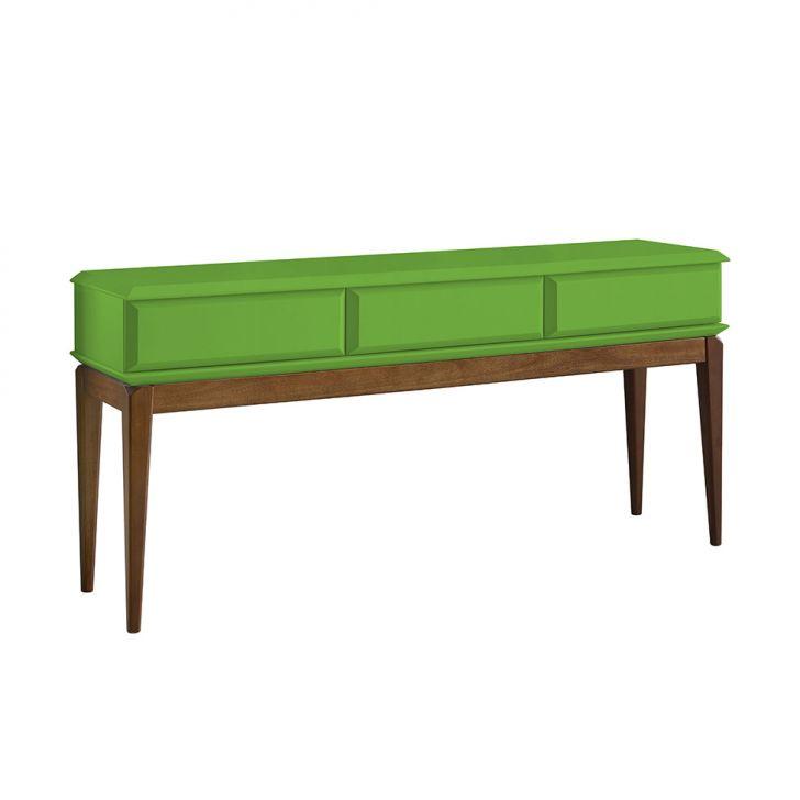 aparador-ravel-cacau-e-verde-limao