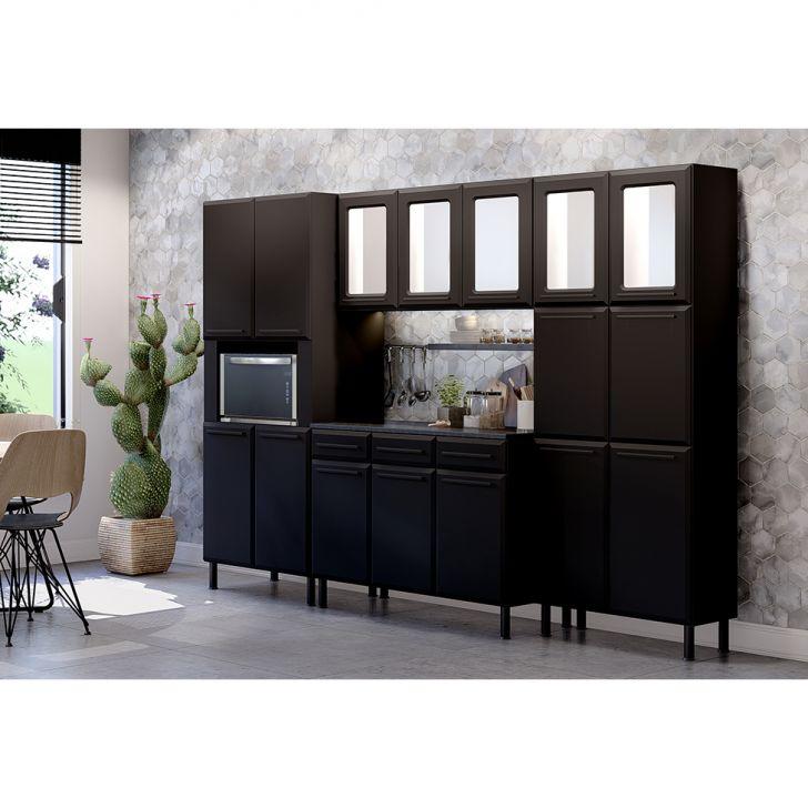 Cozinha Completa Felici 16 Pt 3 Gv Preta