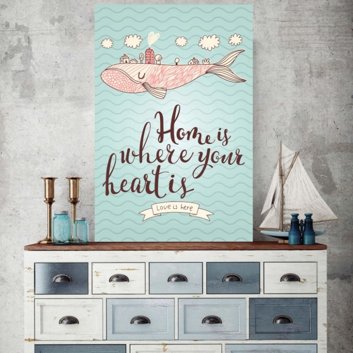 Placa Decorativa Home 30x20