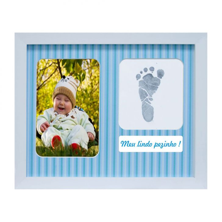 Painel De Fotos Para Mesa Baby Love Color  22x27  1 Foto 10x15 Kapos