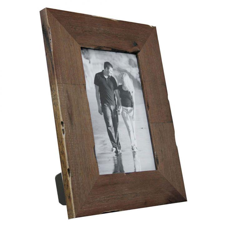 Porta-retratos Photo Frame 1 Foto 20x25 Imbuia Kapos 27x32