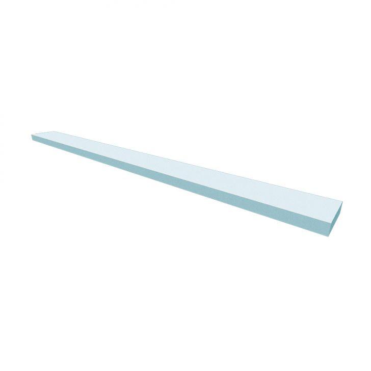 Prateleira Ardo Cinza Cristal 100 Cm