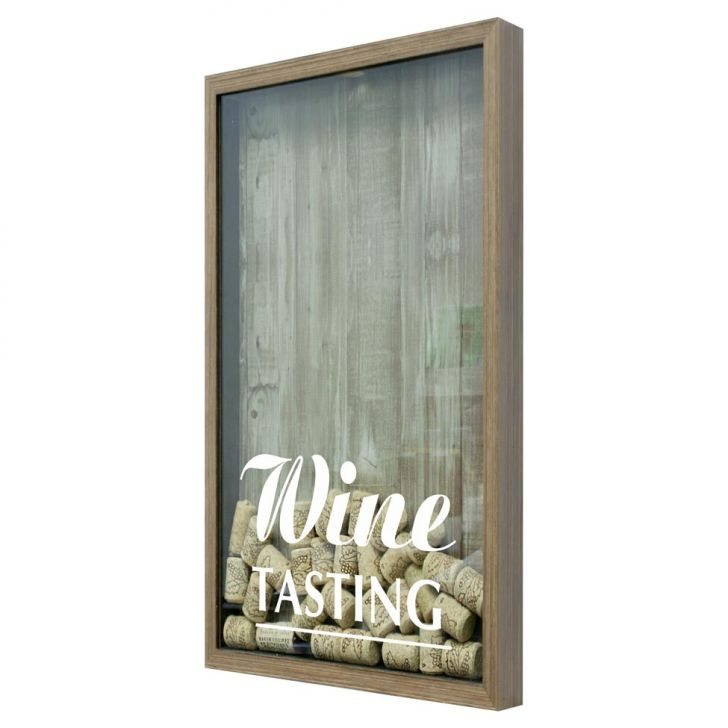 Quadro Porta Rolhas De Vinho Wine Tasting Natural em até 1 vezes sem juros! Devolução grátis em até 30 dias.