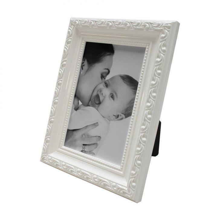 Porta Retrato 15x20cm Provençal Branco