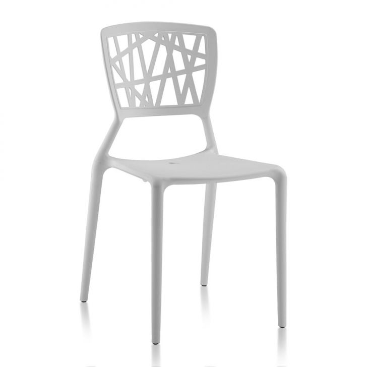 Cadeira Sala de Jantar Melissa Branca Cod: 7899517401416