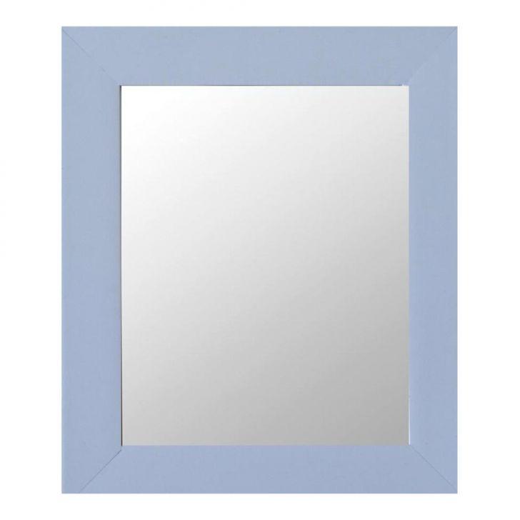 Espelho Moldura Madeira Lisa Raso 16287 Branco Art Shop