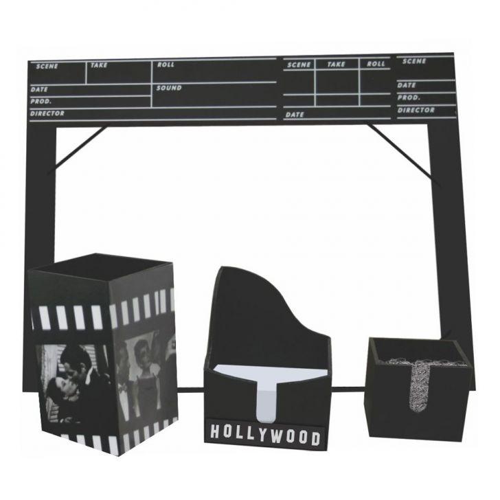 Kit Office Hollywood 28x35 Preto Kapos