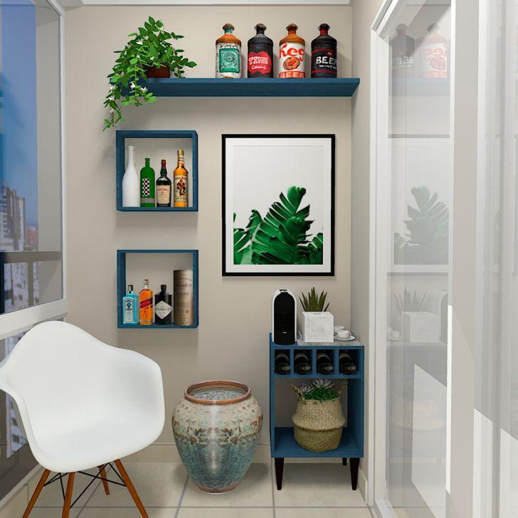 Prateleira Flandres Azul