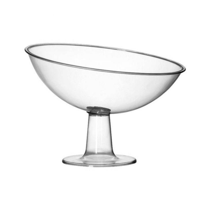 Taça Grande em Acrilico para Festas Buffet Hoteis Eventos 2,6 Litros