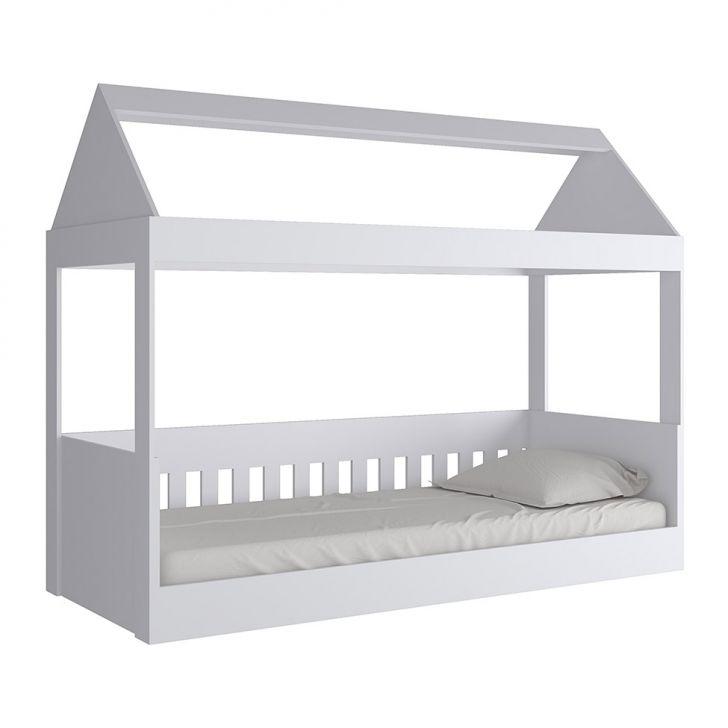 Cama Infantil Casinha I Branco