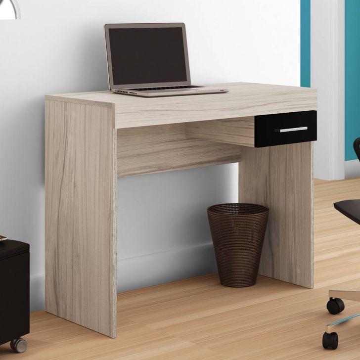 Escrivaninha cooler bege for Mesas de escritorio conforama