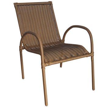 Cadeira Área Alabama em Junco Sintético Tabaco DESCONTO DE R$: 80,67 (31,10% OFF) - OFERTA MOBLY