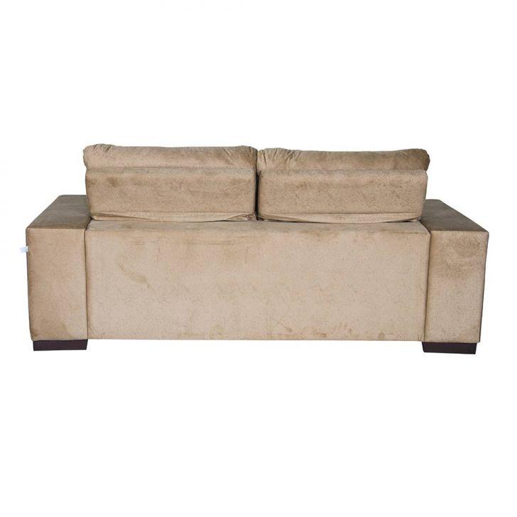 Sof 3 lugares retr til e reclin vel master suede bege for Sofa 7 lugares retratil e reclinavel firenze