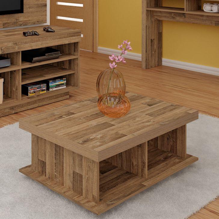 Mesa de centro dunas r stico - Centro de mesa rustico ...