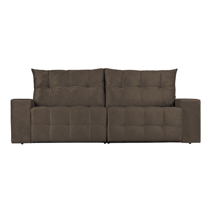 sof 3 lugares retr til e reclin vel floren a suede On sofa 7 lugares retratil e reclinavel firenze