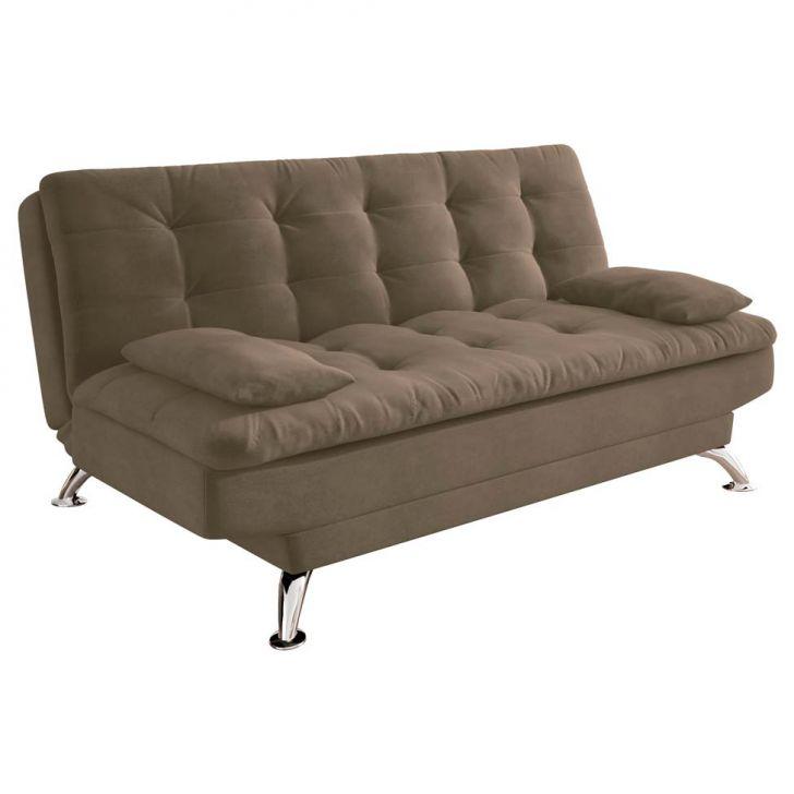Sof cama casal premium suede castanho - Fotos de sofas cama ...
