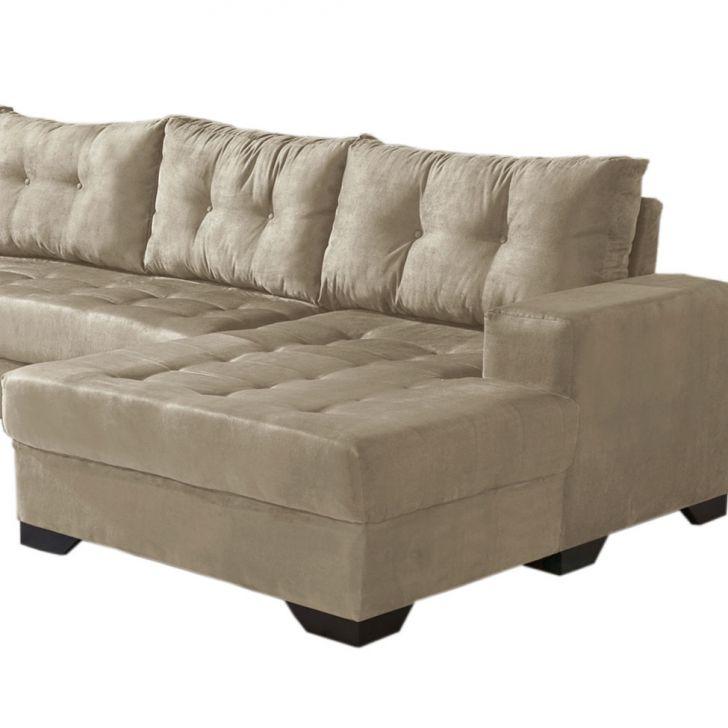 Sof de canto dijon 5 lugares com chaise suede cinza claro - Medidas de sofas 3 2 ...