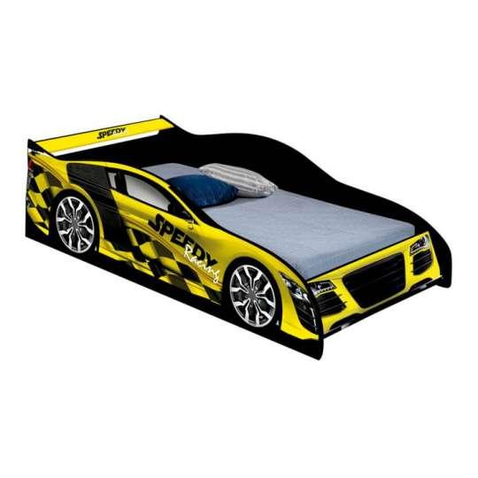 Cama carro infantil speedy amarelo - Cama coche infantil ...