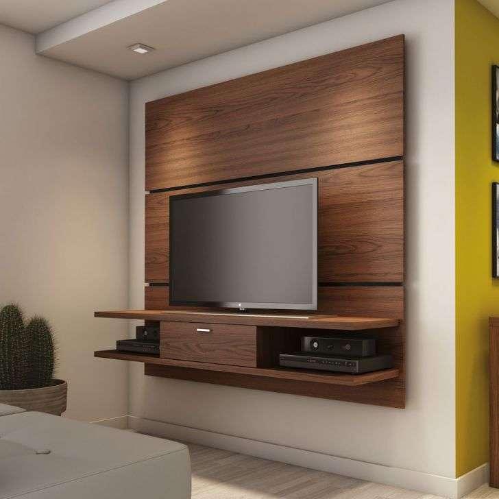 Rack alto para sala de estar Delta 1.8 Rovere Moka Província